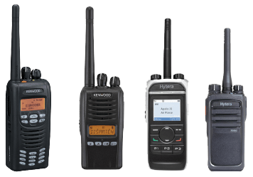 4 types of portable two way radios